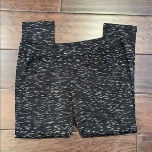 Merona Size XL Black White Ponte Legging Pant